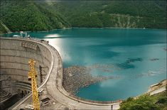 At 892 feet in height, the Inguri Dam is the world's tallest concrete arch dam. Completed in 1978, it was repaired in 1999 at a cost of 116 million euros.