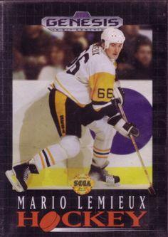 Mario Lemieux Hockey Sega Sega Genesis CIB Game for sale. 52fdb6bfd