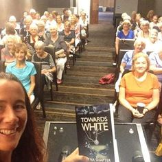 Thank you booklovers, for letting me come & talk to you today about #TowardsWhite - such a friendly crowd!!