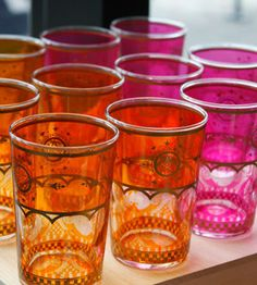 Moroccan Tea Glasses from Alder and Co