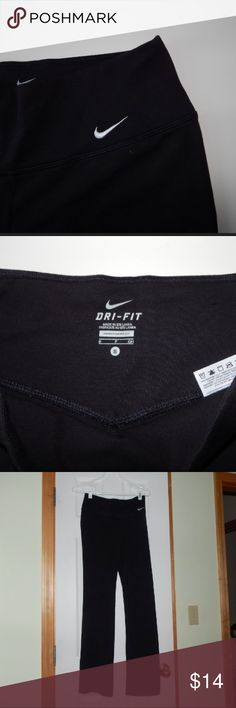 Nike bootcut yoga pants Great condition, no pilling, very slightly faded Nike Pants Leggings