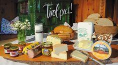 Alpbachtaler Bauernfrühstück - Vom Alpbachtaler Heumilchkäse bis hin zum Bienenhonig von den Bauern aus der Region