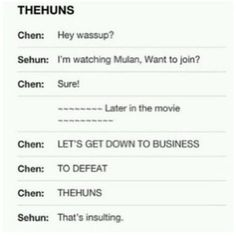 Poor #Sehun and his lips, you are too mean #Chen LOL