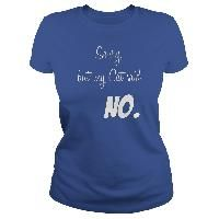 Sorry but my Cat said NO Funny animal person shirt cats lover humor kittens rule the world