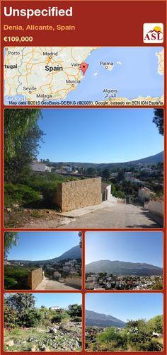 Unspecified for Sale in Denia, Spain - A Spanish Life Alicante Spain, Murcia, Seville, Malaga, Madrid, Spanish, Water, Life, Sevilla