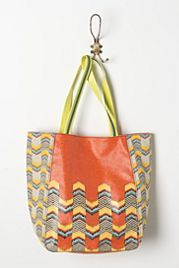 Staggered Chevrons Tote
