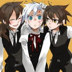 This is depressing... Cute. But depressing... And is it just me, or does Neah look like Haruhi from Ouran in the face..?
