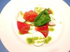 バジルソースは市販のものですが…(`_´)ゞ - 31件のもぐもぐ - カプレーゼ☆ caprese salad ☆ by miya0724