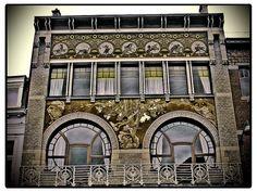 Ciamberlani House: Art Nouveau in Brussels