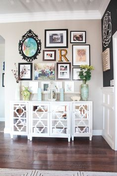 My Dining Room Gallery Wall - Featured on Washington Post