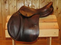 "AVAIL - FULL CALF Antares CC saddle. 17""  Reg flaps/tree. $2,575 if you mention this PIN!"