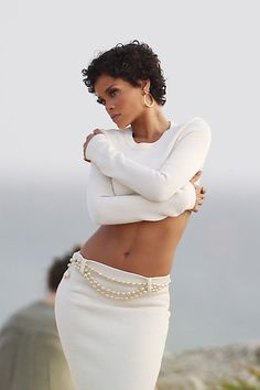 A preview of Rihanna's photoshoot for Glamour magazine in Barbados