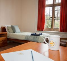 University College Oxford has both single and double B&B rooms right in the heart of historic Oxford. Details at www. College Bedding, Double B, University College, B & B, Bed And Breakfast, Oxford, Rooms, Heart, Home Decor