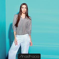 Dica Anasthacia: Comece o ano com muito estilo e elegância no trabalho. #Dica #Elegante #Trabalho  Looks Anasthacia: http://www.anasthacia.com.br/calcas