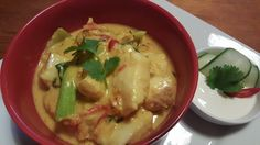 Mild Yellow Fish Curry