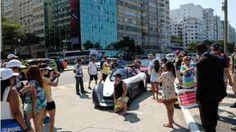 Während die Triathleten um Medaillen kämpften, tauchte der BladeGlider plötzlich in Rios berühmtestem Viertel auf. Und verdrehte allen auf der breiten Avenida Atlântica den Kopf.