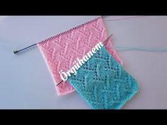 Örgü - Kolay örgü modeli isteyenler için çam dalı modelinin anlatımını paylaşıyoruz. Her türlü örgüde kullanılan bu modeli mutlaka öğrenin. Easy Sweater Knitting Patterns, Knitting Stitches, Free Knitting, Baby Knitting, Hairstyle Trends, Knit Shrug, Moda Emo, Knitting Projects, Stitch Patterns