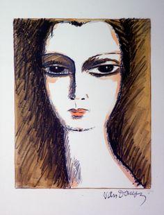Kees van Dongen – divers | Alnorum Art L´Anglaise Of: vrouw met zwanenhals Techniek: Lithografie  Jaar van uitgifte: 1927 Gesigneerd, genummerd Afmetingen: 52 cm x 37 cm (papier) Oplage: 120 exemplaren Op voorraad