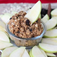California Raisin Oatmeal Cookie Dough Dip by @memeinge