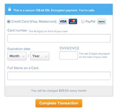 The Ultimate UX Design of: the Credit Card Payment Form    Source: http://designmodo.com/ux-credit-card-payment-form/#ixzz2I5Kzya4g