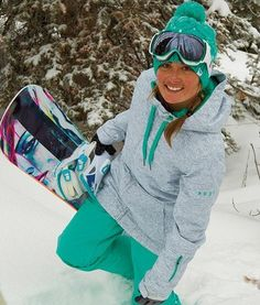 love this ski jacket pant combo. http://www.snowboard-asylum.com/products/roxy/womens-valley-hoodie-jacket/308301#information=1