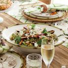 Try the Farro and Spring Vegetable Salad with Feta Recipe on williams-sonoma.com