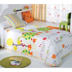 COLCHA INFANTIL REX Bedroom Design For Teen Girls, Applique Quilts, Bed Covers, Bed Spreads, Girl Room, Kids And Parenting, Baby Quilts, Bed Sheets, Bedding Sets