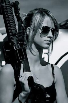 guns Bad girls with