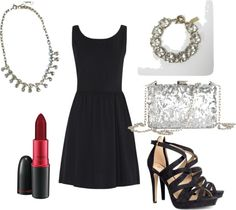 What I'd Like to Wear Wednesday: Little Black Dress Date