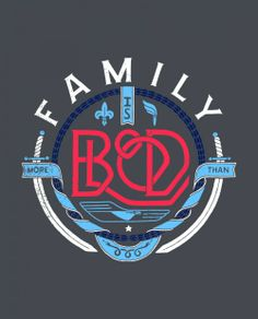 The concept behind this design was to take a new approach to the traditional idea of a family crest in pushing forward the message in the piece. Family can include those around us. Our friends, neighbors, and those in need. Adopt a child. Family is more than blood.