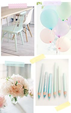 Loving pastels | At Home in Love