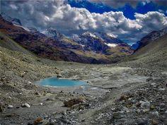Valle d'Aosta  Tsa de Tsan percorso in Val Pelline