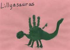 Hands dinosaur