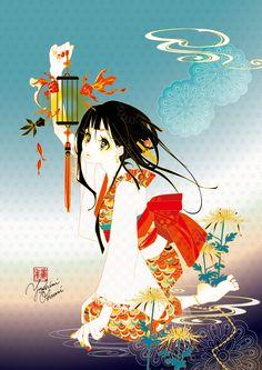 運命の火種 by オオタニヨシミ | CREATORS BANK http://creatorsbank.com/yoshimi/works/284871