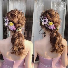Wedding Looks, Wedding Veils, Bridal Hair, Flower Arrangements, Wedding Hairstyles, Floral Wreath, Hair Beauty, Wreaths, Hair Styles