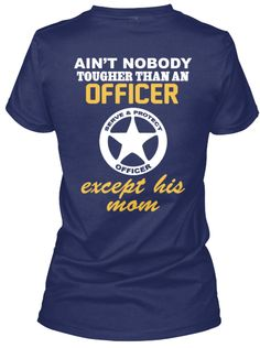 TOUGH OFFICER'S MOM