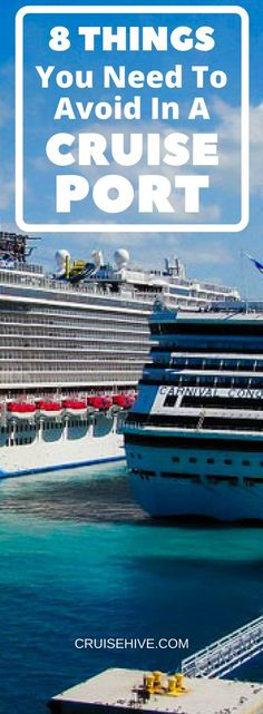 8 Things You Need to Avoid in a #Cruise Port. #travel #traveltips #cruisetips #caribbean