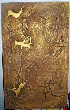 Cave Paintings, Design, Prehistoric Art, Mural Art, Plaster Sculpture, Mural Design, Mural Wall Art, Stone Age Art, Texture Painting