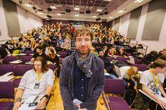 Aesthetica Short Film Festival 2014, Barney Cokeliss, Ridley Scott Associates - York St John University. Courtesy and Copyright Jim Poyner asff.co.uk