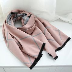 Cheap scarf heart, Buy Quality scarf organizer directly from China scarf hat and glove set Suppliers: IANUS Classical Thick Cashmere Brand Plaid Scarf Women Winter Wool Hijab Blanket Wrap Female New Womens Scarves, Plaid Scarf, Women's Accessories, Cashmere, Wool, Female, Winter, Stuff To Buy, Blanket