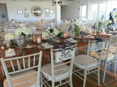 Who wouldn't want a wedding at Chatham Bars Inn??  Tables by True North