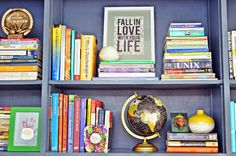 View entire slideshow: Bright and Cheery Home Office on http://www.stylemepretty.com/collection/1236/
