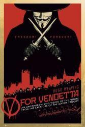 V for Vendetta movie poster (24'' X 36'') New Only $6.97