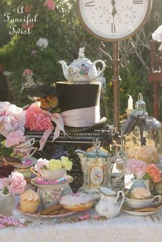Mad Tea Party ♥ 2015 via A Fanciful Twist