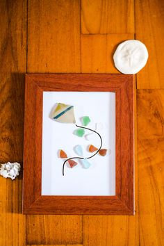 Pottery and Sea glass Kite Nursery Room Wall by SeeShoreThings, $13.00