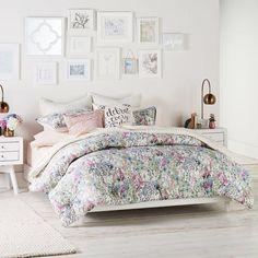 LC Lauren Conrad Wildflower Comforter Set