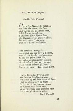 Hentet fra boken Gamle Bergensviser Publisert: Bergen : Eide, 1948