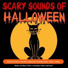 Scary Sounds of Halloween - K-Tel Spooky Music, Halloween Music, Outdoor Halloween, Halloween Night, Holidays Halloween, Spooky Halloween, Halloween Decorations, Halloween Tricks, Halloween Ideas