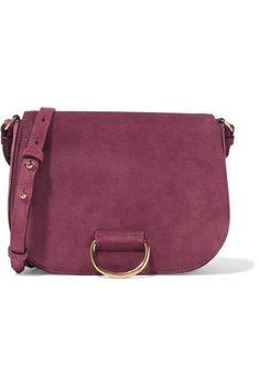 a344fde376e7 Little Liffner - Saddle medium suede shoulder bag
