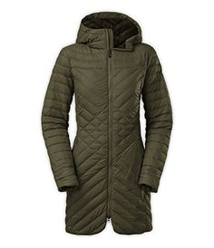 """Stay warmer during your commute from point A to point B in this 30"""" long quilted jacket that's insulated with 700-fill down and protected by a durable nylon ext..."""